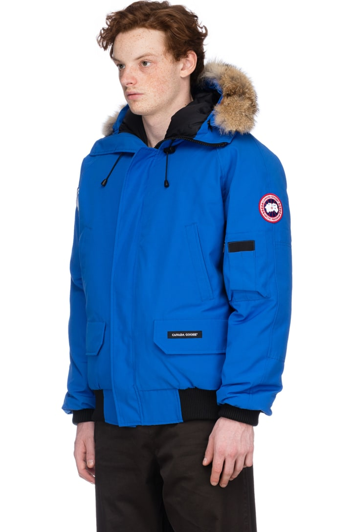 Lyst - Canada Goose Borden Fur-trimmed Puffer Jacket in