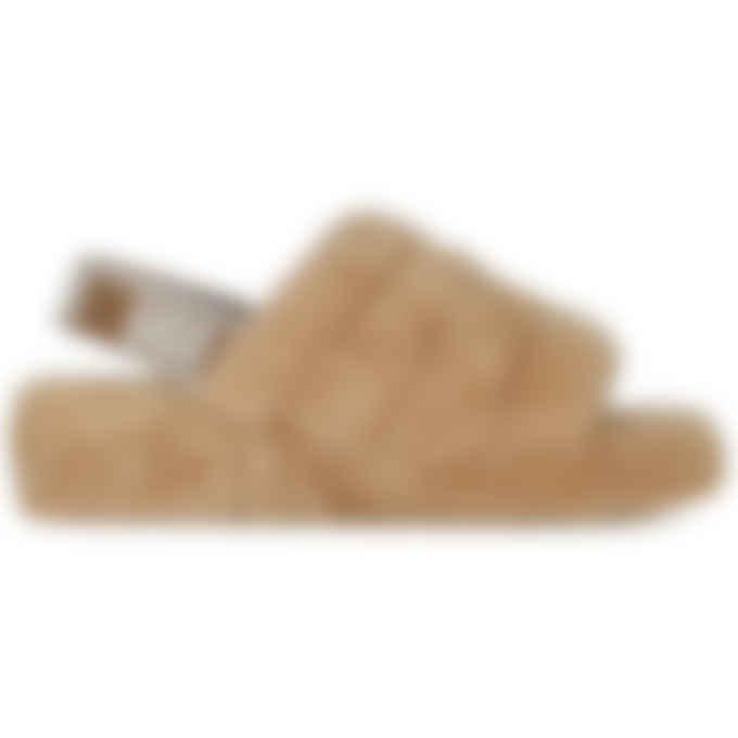 UGG - Fluff Yeah Slide - Chestnut