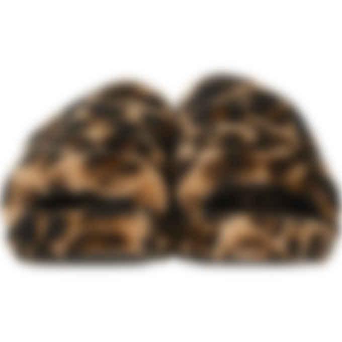 UGG - Fluff Yeah Slide Panther Print - Butterscotch