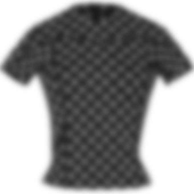 MISBHV - Reflective Monogram Fitted T-Shirt - Black