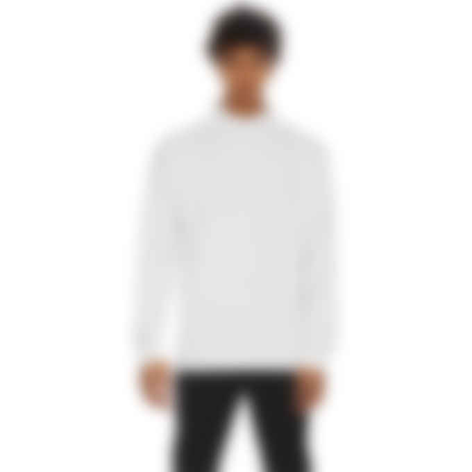 1017 ALYX 9SM - Visual Roll Neck Long Sleeve T-Shirt - White
