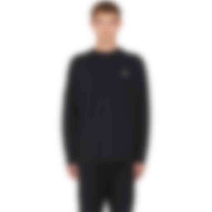 Fred Perry - Raf Simon Back Print Pullover - Black
