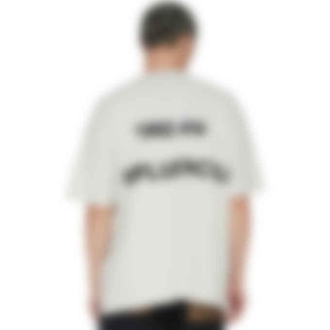 influenceu - '1992 été' Print T-Shirt - Ice