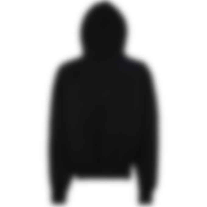 Champion - Reverse Weave Label Hoodie - Black