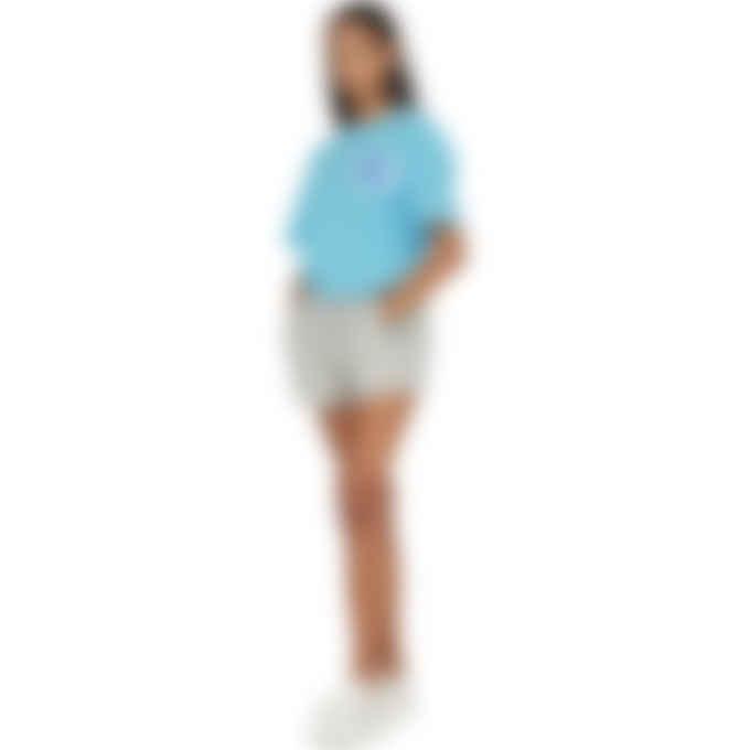 Champion - Heritage Floss Stitch 'C' logo T-Shirt - Blue Horizon