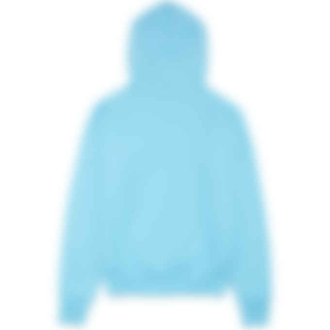 Champion - Reverse Weave Label Hoodie - Blue Horizon