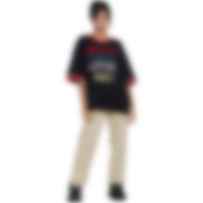Malice Studios - JC Loves Me Ringer T-Shirt - Black