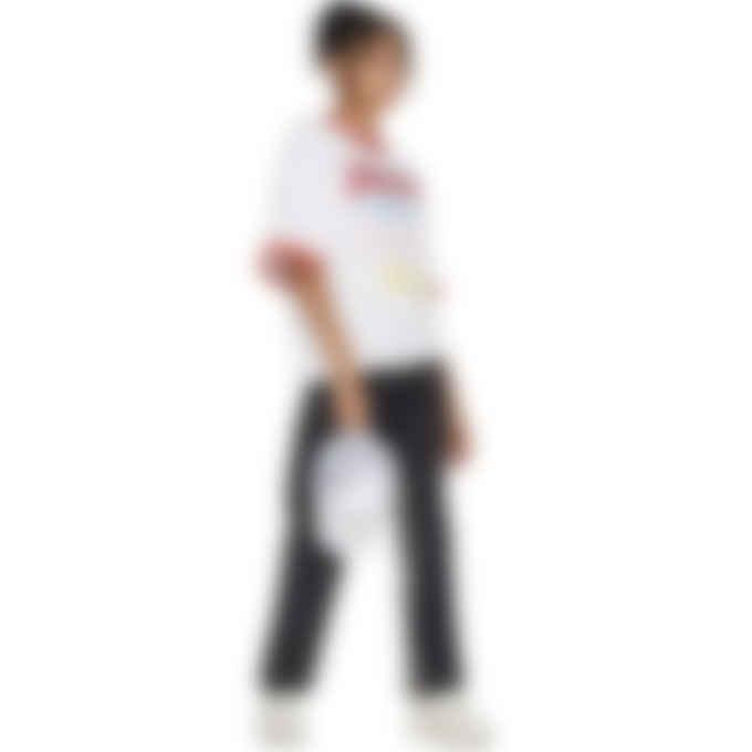 Malice Studios - JC Loves Me Ringer T-Shirt - White
