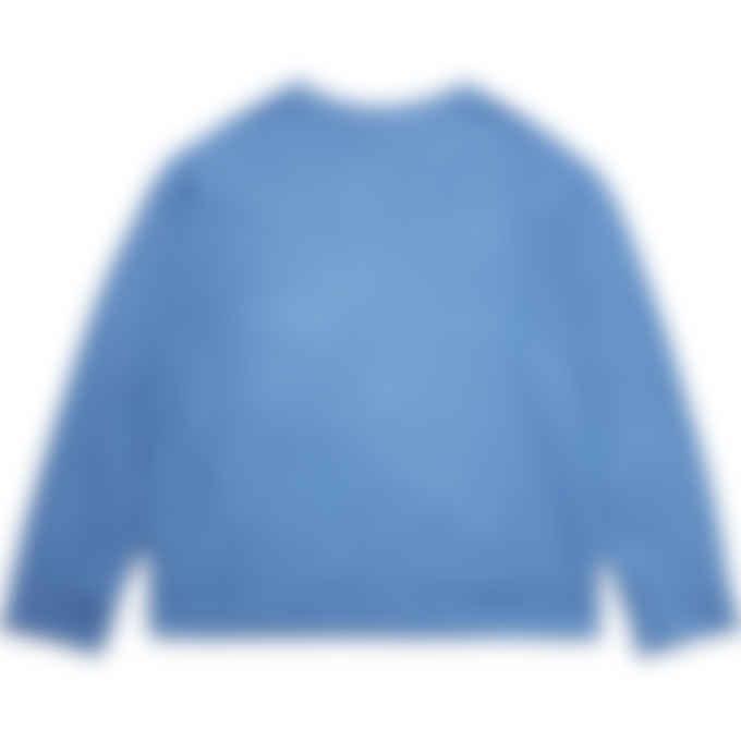 Malice Studios - Gothic Logo Sweater - Sky Blue