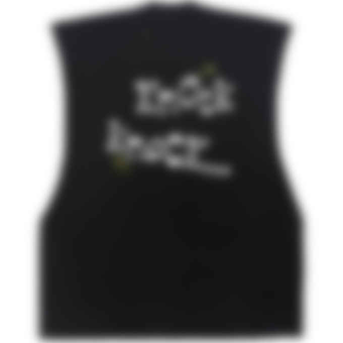 Malice Studios - Knock Knock Cut Off T-Shirt - Black