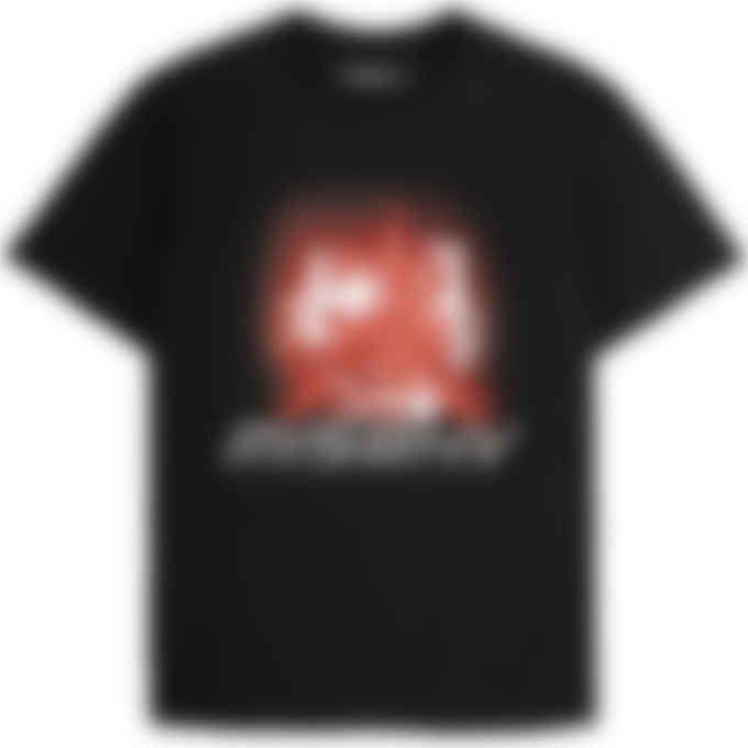 MISBHV - 2001 Red Crystals T-Shirt - Black