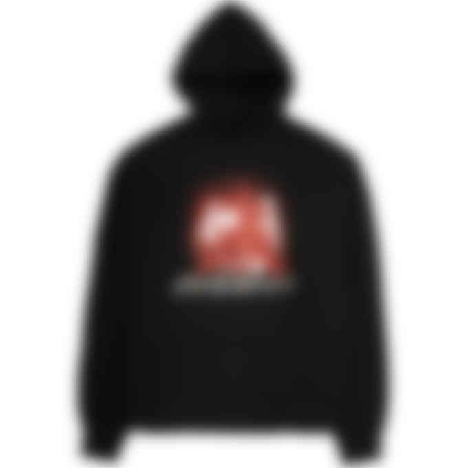 MISBHV - 2001 Red Crystals Hoodie - Black