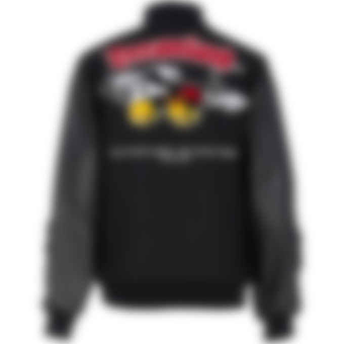 Malice Studios - Starcade Varsity Jacket - Black