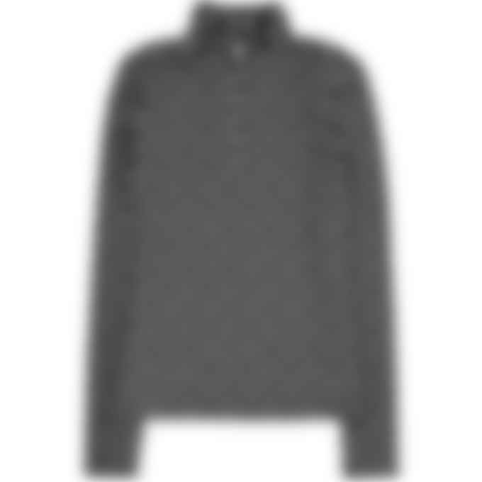 MISBHV - Reflective Monogram Zip Long Sleeve Top - Black