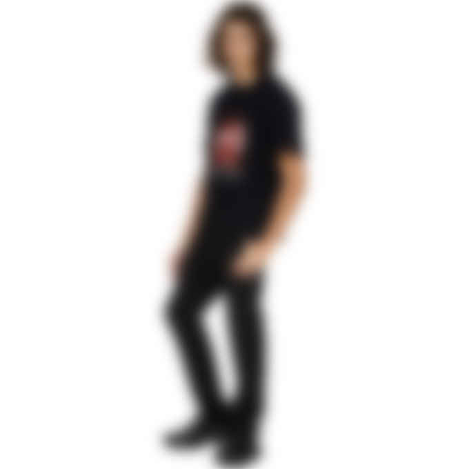 MISBHV - 2001 Red Crystals T-Shirt - Black