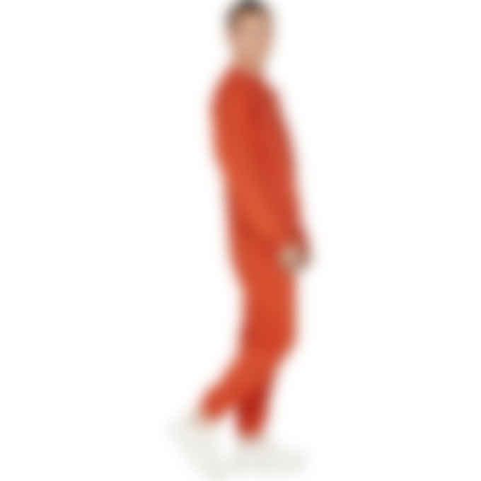 adidas Originals x Pharrell Williams - Pharrell Williams Basics Sweatpants - Active Red
