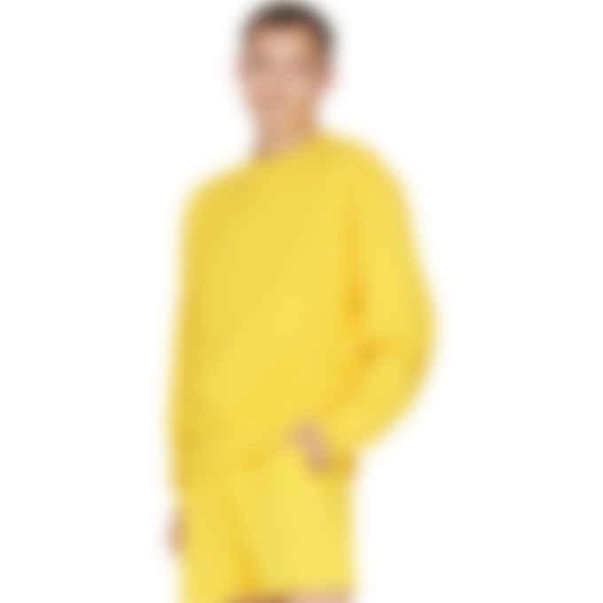 adidas Originals x Pharrell Williams - Pharrell Williams Basics Crew Sweater - Bold Gold