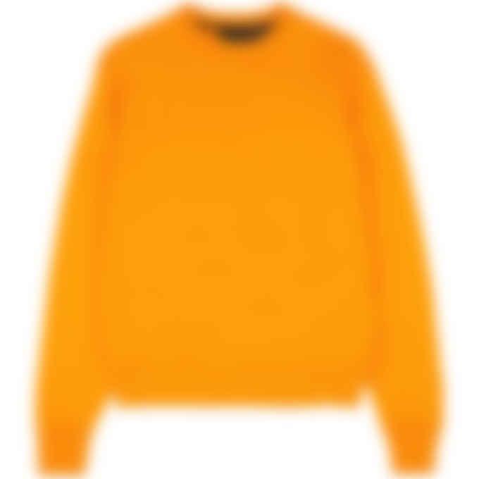 adidas Originals x Pharrell Williams - Pharrell Williams Basics Crew Sweater - Bright Orange