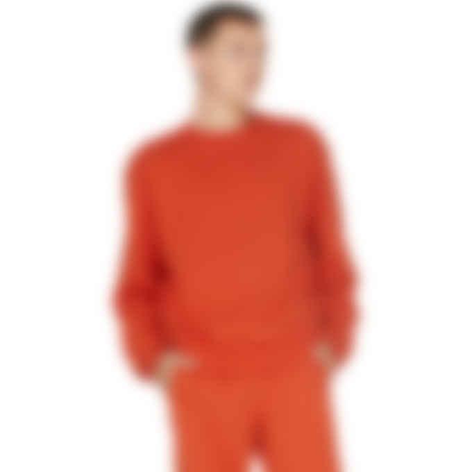 adidas Originals x Pharrell Williams - Pharrell Williams Basics Crew Sweater - Active Red