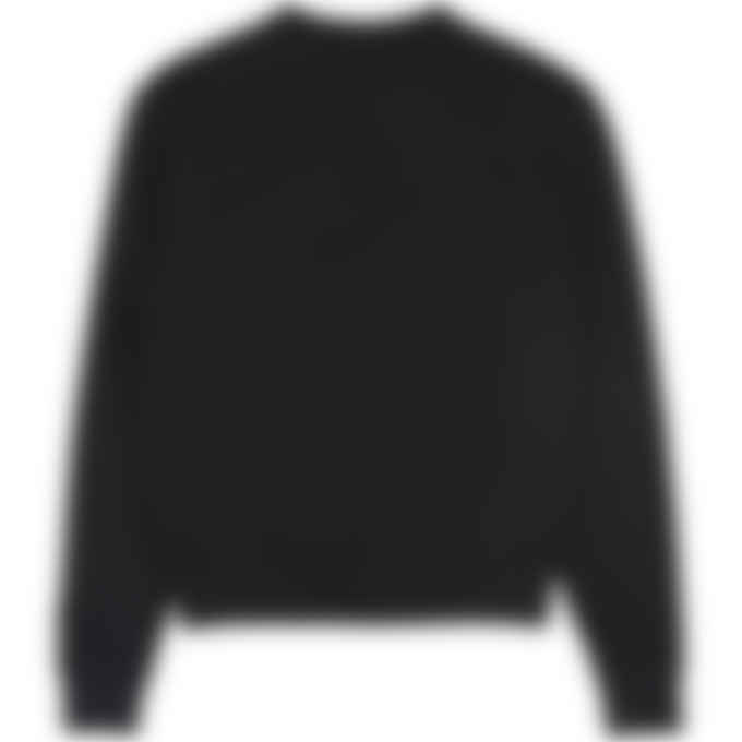 adidas Originals x Pharrell Williams - Pharrell Williams Basics Crew Sweater - Black