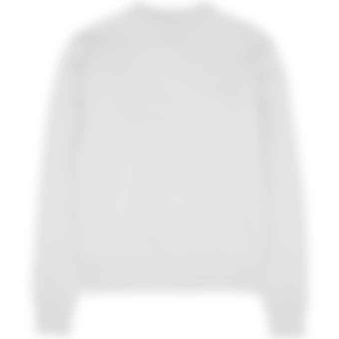 adidas Originals x Pharrell Williams - Pharrell Williams Basics Crew Sweater - Light Grey Heather