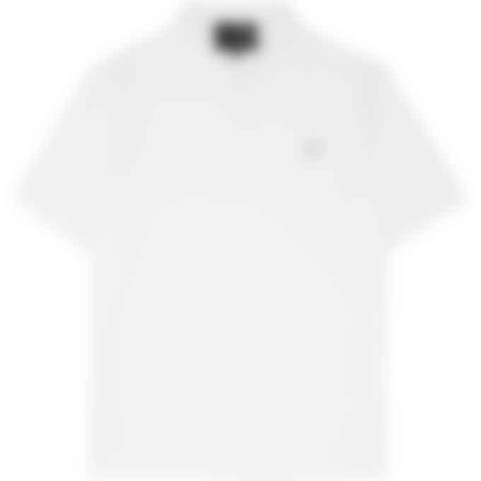 Fred Perry x Raf Simons - Raf Simons Laurel Wreath Detail Polo Shirt - White