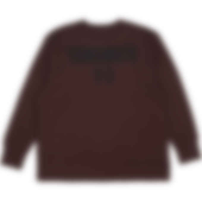 Y-3 - CH2 Mesh Graphic Crew Pullover Sweater - Night Red