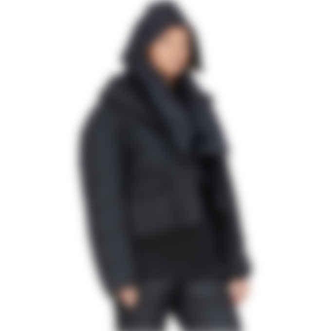 Y-3 - CH3 Hooded Scarf - Black