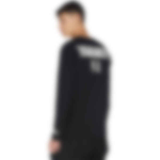 Y-3 - CH2 Graphic Long Sleeve T-Shirt - Black