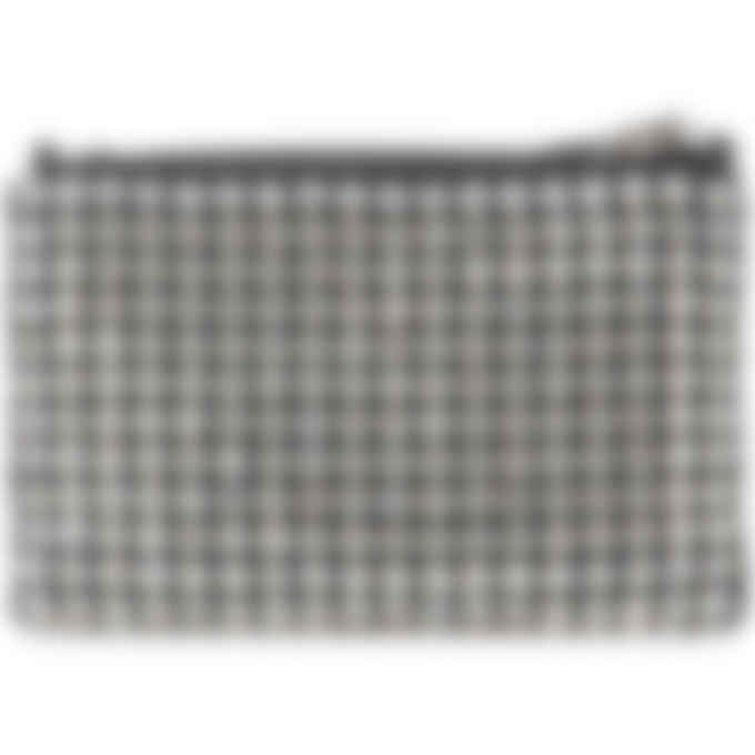 Alexander Wang - Wangloc Rhinestone Nano Pouch - Silver