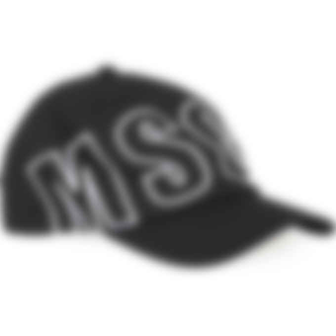 MSGM - Embroidered Logo Baseball Cap - Black