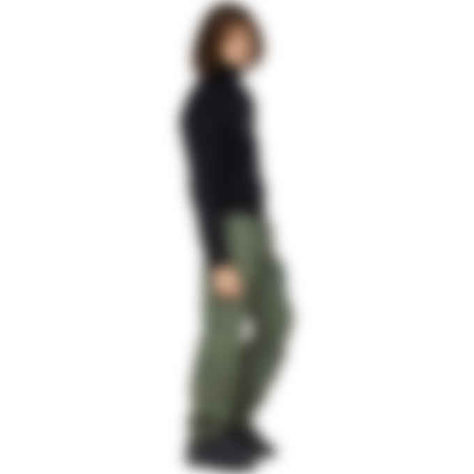 MSGM - High Neck Micro Logo Pullover Sweater - Black