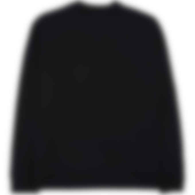MSGM - Tonal Box Logo Pullover Sweater - Black