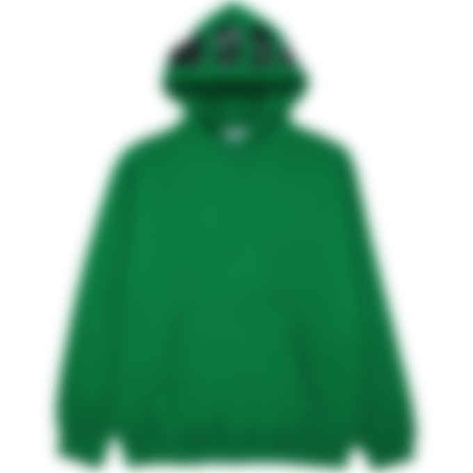 MSGM - Logo Hood Hoodie - Green