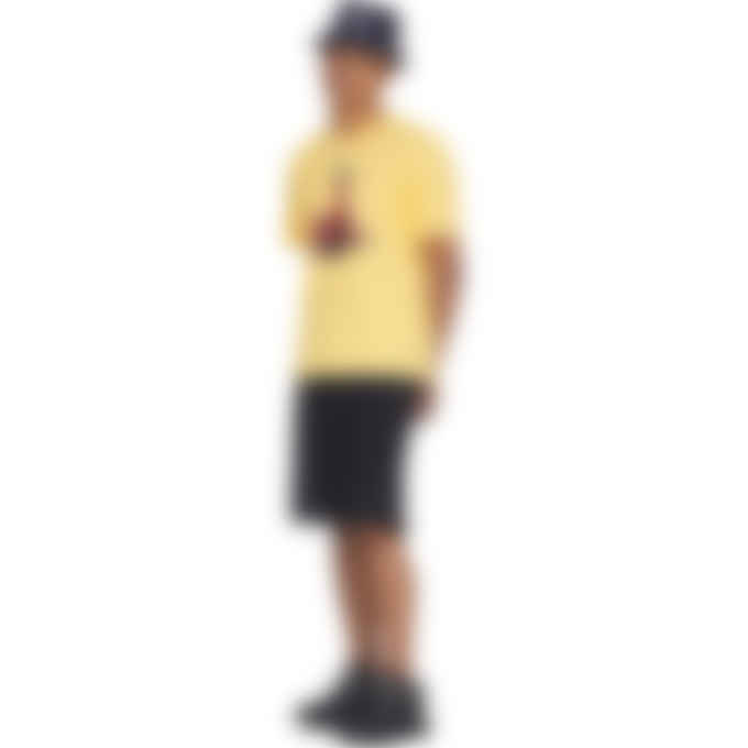 MSGM - Cartoon Print T-Shirt - Yellow