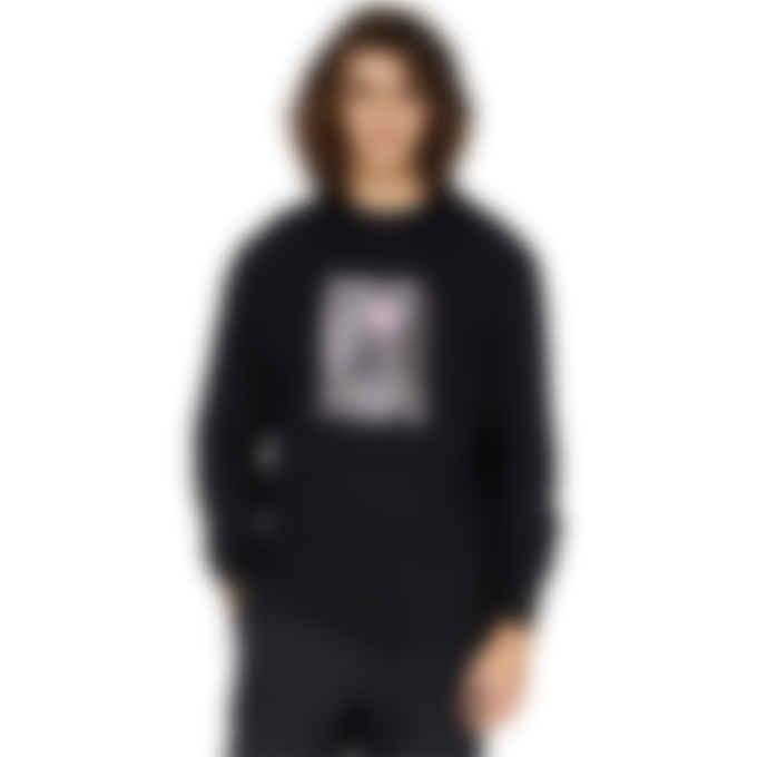 MSGM - Dario Argento x MSMG Long Sleeve Print T-Shirt - Black