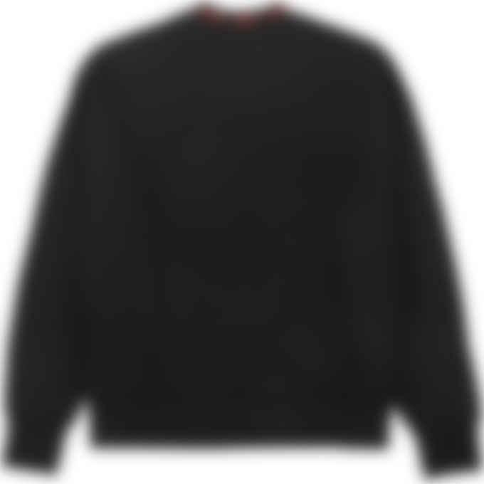 MSGM - Collar Logo Pullover Sweater - Black