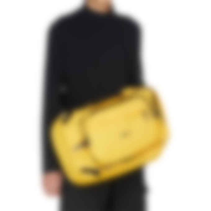 MSGM - Micro Logo Hand Bag - Yellow