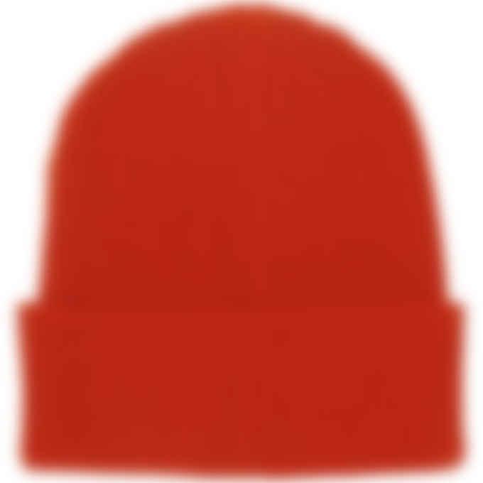 MSGM - Micro Logo Docker Beanie - Red