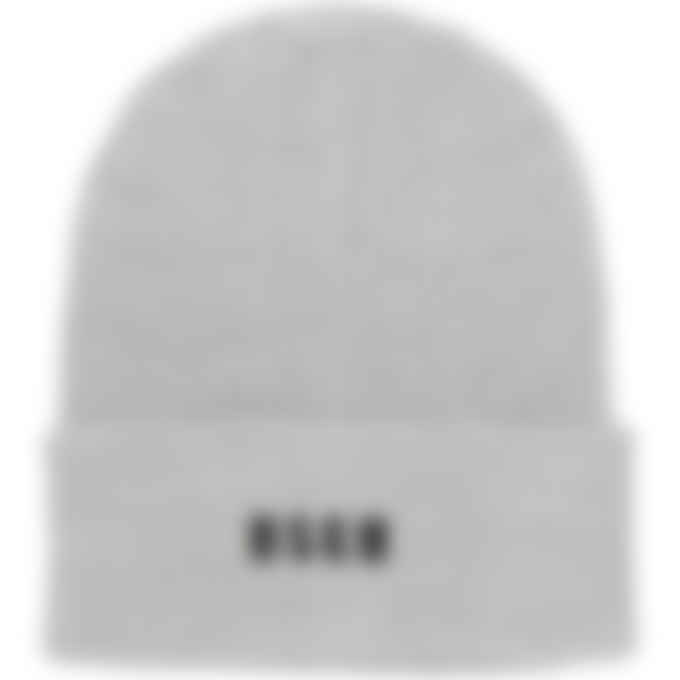 MSGM - Micro Logo Docker Beanie - Light Grey