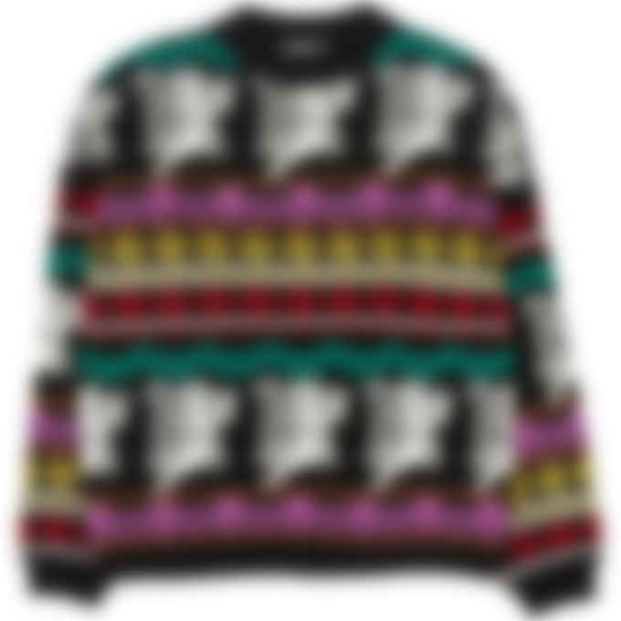 MSGM - Cupid Knit Pullover Sweater - Black