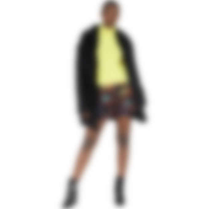 MSGM - Logo Knit Cashmere Turtleneck - Yellow