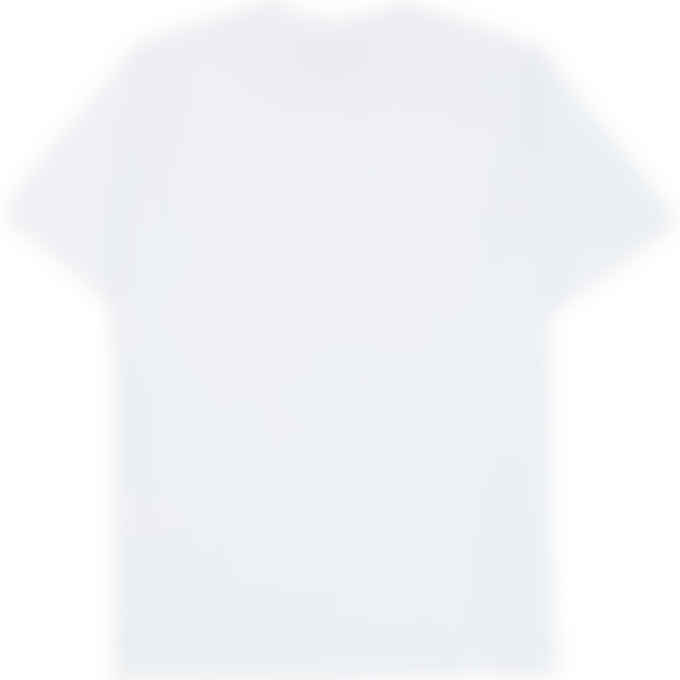 MSGM - Tonal Box Logo T-Shirt - White