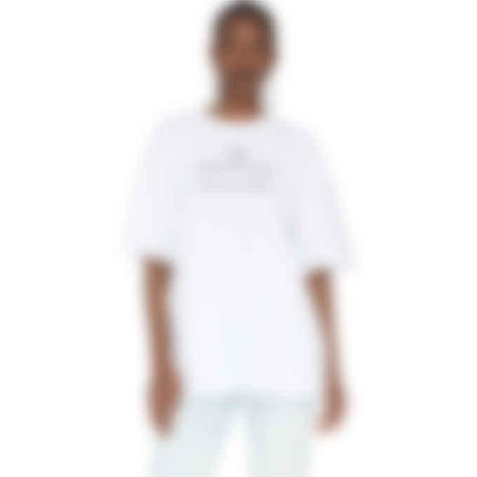 MSGM - Lettering Print T-Shirt - White