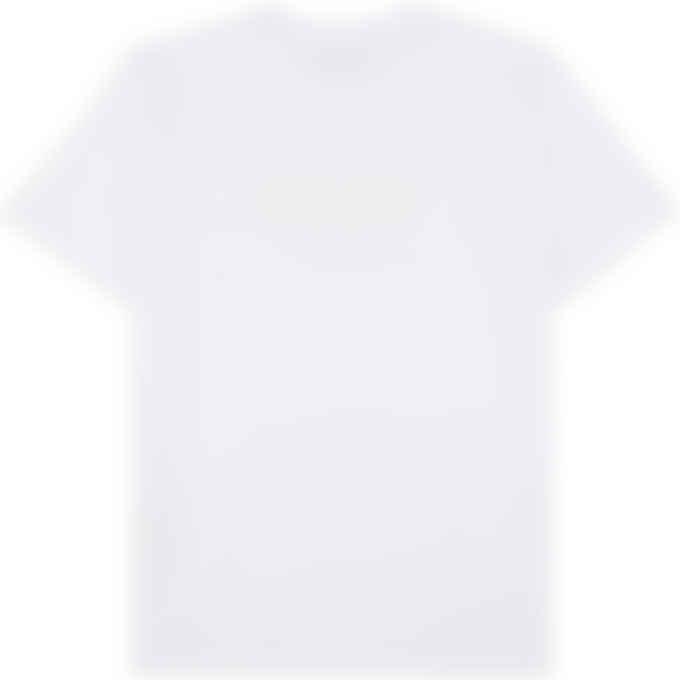 MSGM - Silver Logo T-Shirt - White