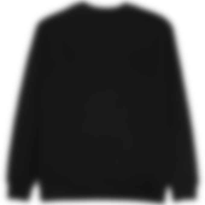 MSGM - Gold Logo Pullover Sweater - Black