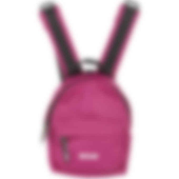 MSGM - Small Micro Logo Backpack - Fuchsia