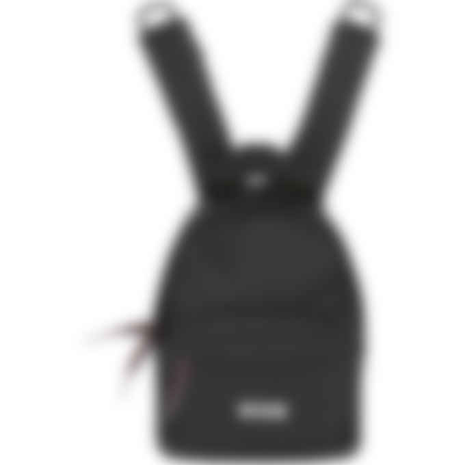 MSGM - Small Micro Logo Backpack - Black