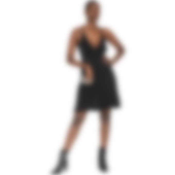 MSGM - Lurex Knit Dress - Black