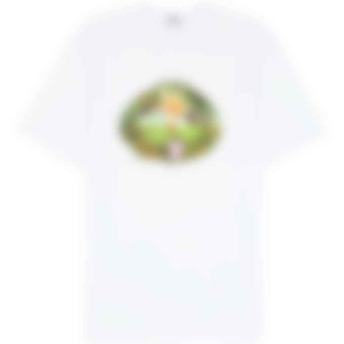 MSGM - Jungle Print T-Shirt Dress - White